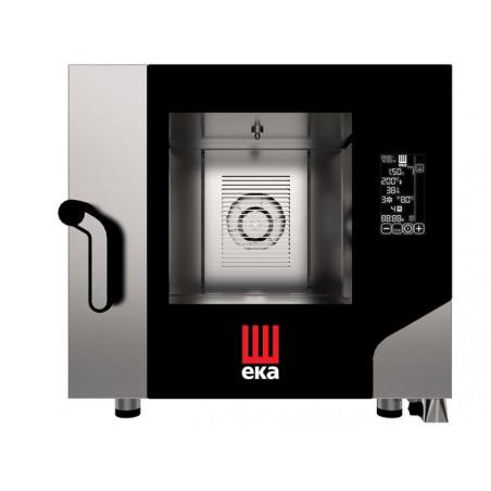 Piec konwekcyjno - parowy Black Mask 5 x GN 1/1 elektryczny z bezpośrednim natryskiem