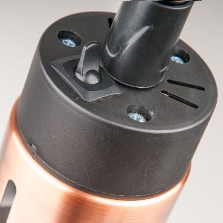 Lampa do podgrzewania potraw wisząca, miedziana, P 0.25 kW, U 230 V