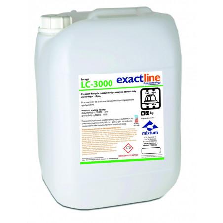 Lavage LC 3000 25kg |  Preparat do maszynowego mycia naczyń z zawartością aktywnego chloru