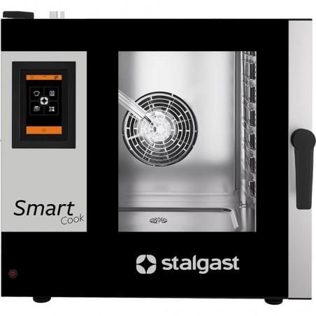 Piec konwekcyjno-parowy SmartCook dotykowy 7xGN1/1 Stalgast   9100047