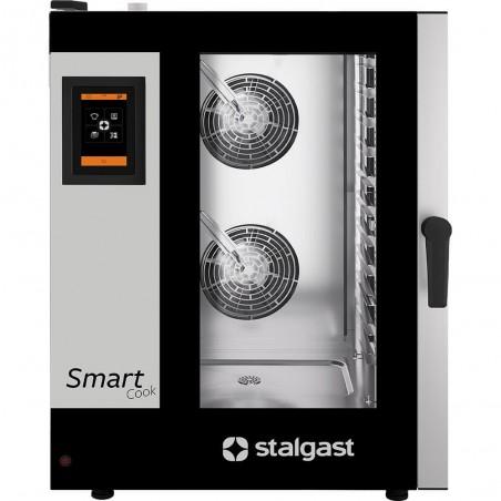 Piec konwekcyjno-parowy SmartCook dotykowy 11xGN1/1 Stalgast | 9100051